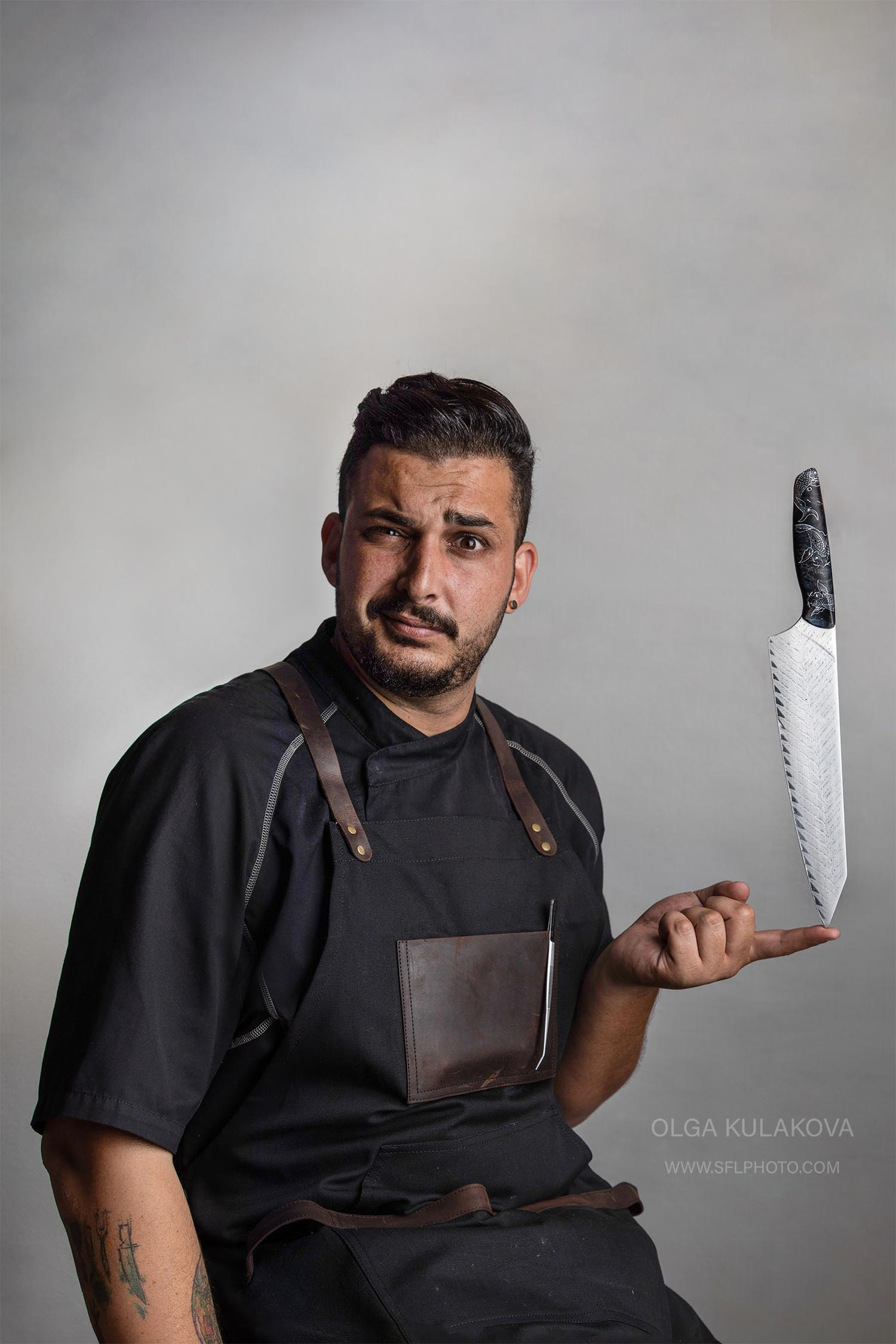 Chef Sean Chaprak fine art photography portrait